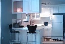 *Tiny Kitchen* / Small Kitchen Decorating Ideas / by Jo Niehoff