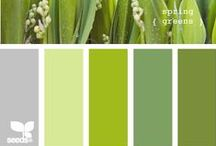 *Green* / What colors go with sage ?????????? / by Jo Niehoff
