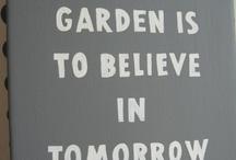Garden-take it outside / by bg franklin