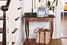 Interiors // Entryways / by Meghan Kennedy