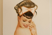 Modern Retro Hair and Makeup / by Michelle Ray Viscal