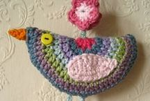 Crochet / I love to knit, and I would love to learn how to crochet. I love crocheted flowers and granny square afghans.   / by Michelle Ray Viscal