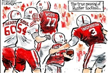 Husker Football All things Red and White~ Past and Present! / by Nana Hall