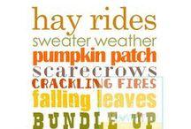 Autumn Season / by Brittani Alford