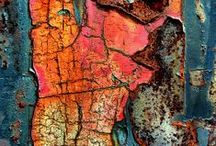 Texture, Rust & Color / by Chloe Patton