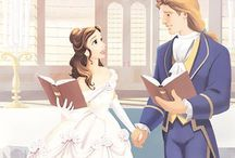 Beauty & the Beast / November 22, 1991   My all time favorite Disney movie. I loved the story as a child and still love it to this day. The story of Prince Adam and Belle is beautiful.  / by Allie Phillips