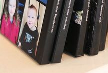 Family & School Yearbooks / Assorted ideas to save the memories of the school year, family events and birthdays.  / by Allie Phillips