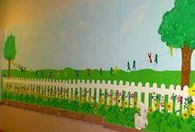 BULLETIN BOARDS & DOOR IDEAS / Random ideas for creating bulletin boards and door decorations.  / by Allie Phillips