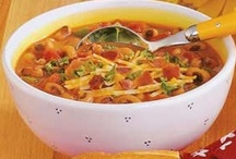Food - Hearty Soups / by Linda Dompierre