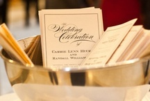{real wedding} carrie and randy / by Invitations by Ajalon