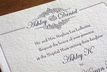 {invitation design} monica / by Invitations by Ajalon
