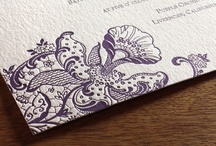 {invitation design} orchid / by Invitations by Ajalon