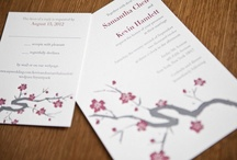 {real wedding} samantha and kevin / by Invitations by Ajalon