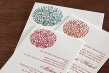 {real wedding} afreen and sheikh / by Invitations by Ajalon