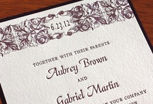 {invitation design} aubrey / by Invitations by Ajalon