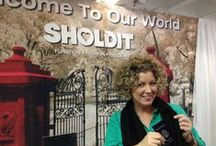 Atlanta Gift Show 2013 / SHOLDIT loves being in Atlanta! Introduced new product line for 2013 and new packaging! / by SHOLDIT®, scarf with pocket