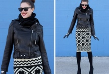 Clothing ideas - Ways to wear for Fall/Winter / Inspiration for recreating outfits / by Sharon Farr