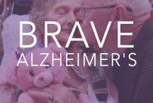 {Be Brave} with Alzheimer's  / Bravelets proudly supports Alzheimer's Awareness. We have raised over $25,000 for the cause since our company launched in January 2012. From every item purchased on www.bravelets.com, $10 is donated to the cause.  / by Bravelets