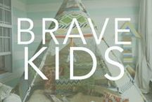 {Be Brave}, Little Ones. / by Bravelets
