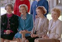 """""""FIRST LADIES OF THE LAND"""" / by Sue Rader-Creager"""