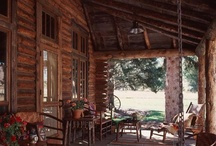 Log Home Living / The way we live and some ideas that would be fun to dream about.... / by Laurie Sulatyski Zaporzan