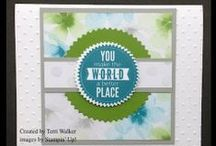 Sundays with Sizzix / Every Sunday I publish a video tutorial using my Big Shot. These are my faves! / by Terri Walker