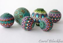 Polymer Clay - Kaleidoscope Canes / by hummingbird.pie