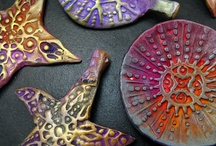 Polymer Clay - Unusual Treatments / by hummingbird.pie