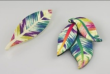 Polymer Clay - Ikat / by hummingbird.pie