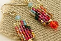 Bead Weaving - Earrings / by hummingbird.pie