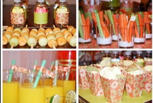 Party ideas (Who wants me to throw them a PARTY?) / by Jeannie Crivea