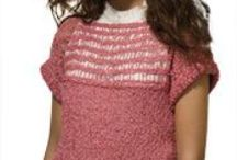 Knit Tank, Tee & Pullover Patterns / by Annie's Catalog