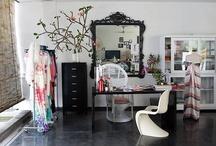 Office Spaces / by Dominique DeLaney   Comfy Cozy Couture
