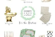 Holiday Gift Guide / by Dominique DeLaney   Comfy Cozy Couture