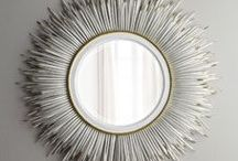 Mirrors + Wall Decor / by Dominique DeLaney   Comfy Cozy Couture