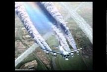 Agenda 21 - Chemtrails/snow, HAARP, Frequencies, etc / Chemtrails / Geo Engineering / DEPOPULATION. Began in the late 1940's. 'Global Dimming' by 20% of the sun direct rays. The climate is so horrifically damaged it can't be undone. Lack of reproduction. Flouride, Barnium, Metals, Alluminum, Morgellons, , Smart Dust, Smart Nanites in Vaccines, HAARP, AISS(snow). Species extinction rate is 200 a day. GLOBAL DEPOPULATION. Nanoparticles by air, food or water ingestion react to HAARP frequency. Molecular Deconstruction or Disassociation  / by SandyLHCA