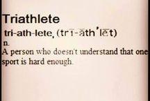 Triathlon / Swim, bike, run / by Robert Lew