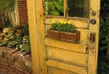 Rustic, Worn and Old Doors / by Leita Laird