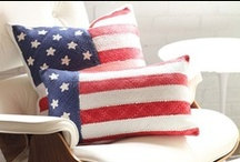 all things american / Red, white and blue, Memorial Day, 4th of July, Labor Day and the Olympics are always a special time to celebrate. This board represents patriotism and all the excitement around being American! Everything from fashionable finds to entertaining must-haves to the perfect summer hostess gifts are here. Get the items you really love for all your celebrations! / by Taigan