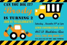 Construction party / by Veronica InvitingPrintables