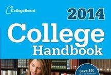 college info / by Audrey Urbanczyk