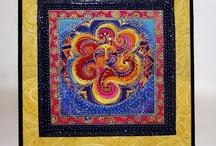 Glittered Fabric Art / by Art Glitter