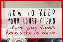 Cleaning/Organization. / by Alyssa Hulvey