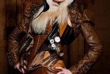 Steampunk / I want a Steampunk air ship Captain's costume that combines the elements of a pilot and a pirate, and I am looking for the perfect elements to put together. So much to choose from, so little time! / by Penney Nile
