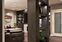 Basement/Bathroom Makeovers / A few ideas to someday update my dated basement... / by Lorraine Vallis