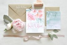 Invitations, Menus and Programs / by Jessica Miers