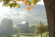 Barns... / by Gail Napoliton Wilson