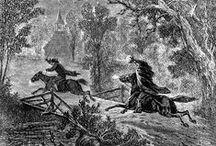 Writers: Washington Irving / by Little Gothic Horrors
