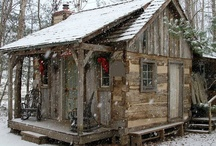 Little House in the Big Woods / ideas and furnishings for a dream cabin in the woods / by Brenda Wegner