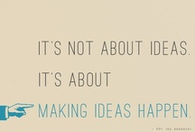 Great Inspirational Quotes. / by Marketing For Breakfast